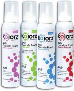Zenith Kolorz 60 Sec Fluoride Foam 125g
