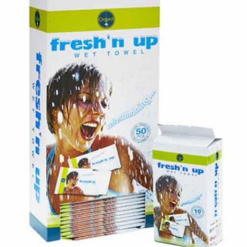 Ongard Fresh'n ups Towels Office 50 - Healthware Australia