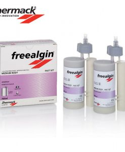 Zhermack Freealgin Maxi Medium Body Fast-set 2x380ml Cartridge + 15 Tips