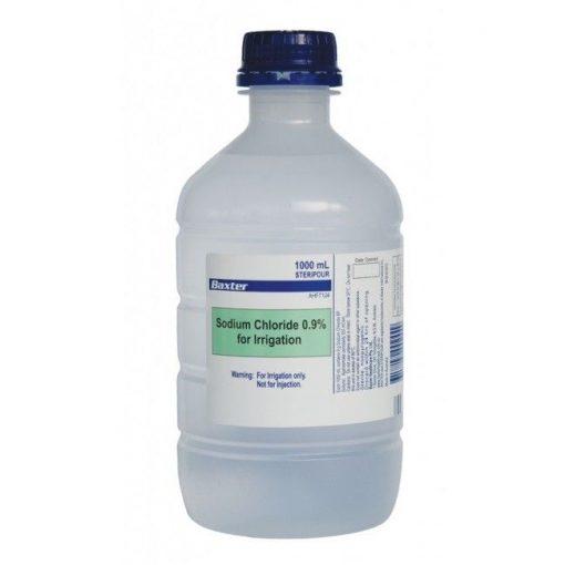 Baxter Sodium Chloride (Saline) 0.9% Bottle