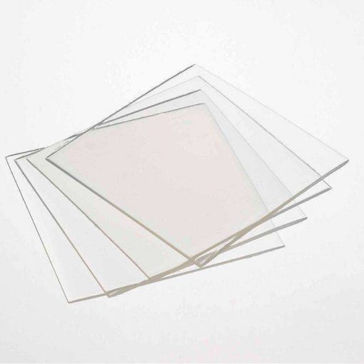Laminate / Bleach Tray Material Clear 127mm x 127mm Square 1.5mm 10/Pack