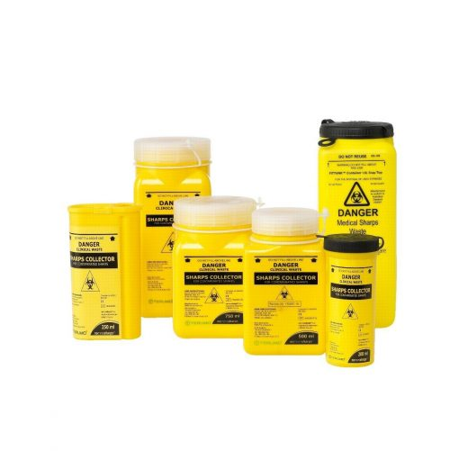 Sharps Container TERUMO 3.0-19 Litres With Screw Lid