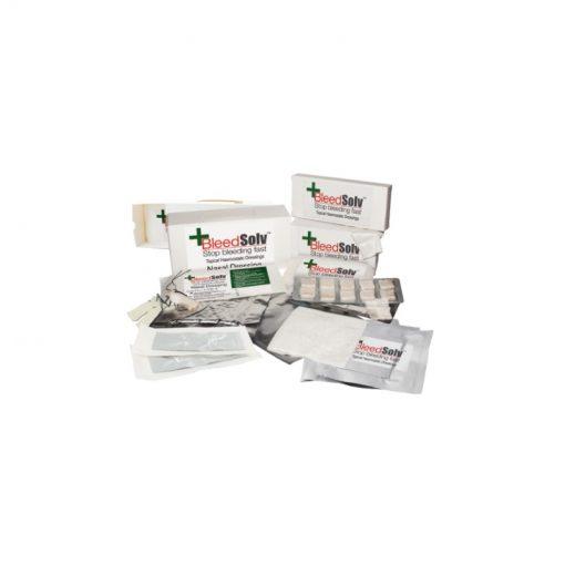 Bleedsolv Haemostatic Sterile Dental Gauze 1.9cm x 1.9cm 20/Box