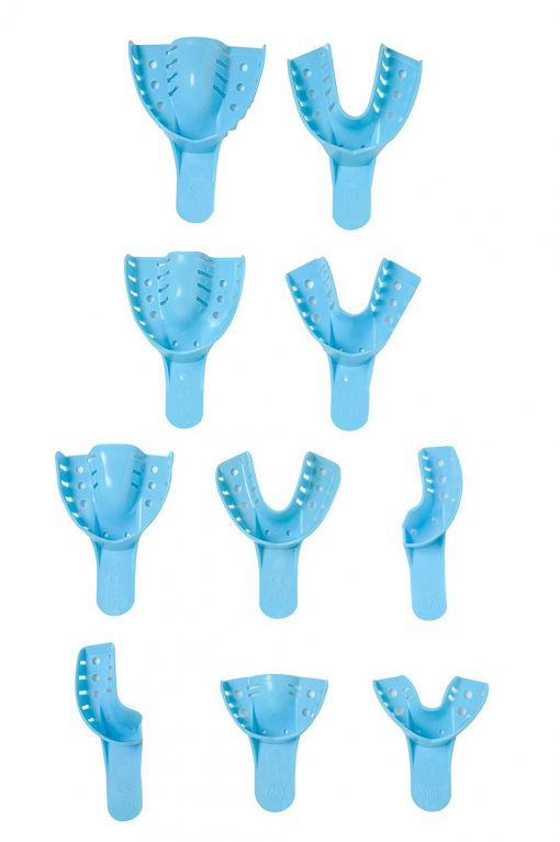 Defend Impression Trays Dark Blue 12/Bag
