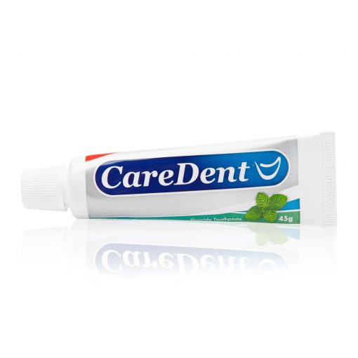 Caredent Mint Fluoride Toothpaste 24g 24/Box
