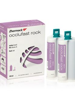 Zhermack Occlufast Rock 2x50ml + 12Mixing Tips