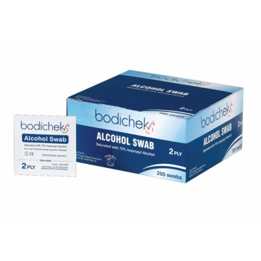 Alcohol Swabs Bodichek 200/Box