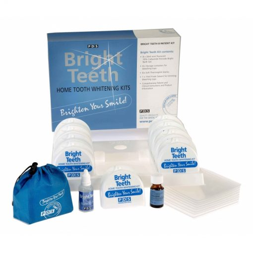 PDS Bright Teeth Kit 10%, 8/Pack