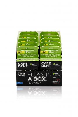 Caredent Floss In A Box Periotape 100m 10/Box
