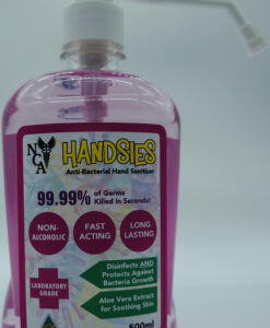 NCA Handsies Anti-Bacterial Hand Sanitiser 500ml