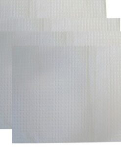 DentaMedix 3 Ply Bib/Tray Cover White 31cm x 21.5cm 1200/Carton