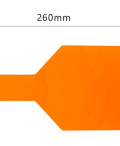 DentaMedix Orange Light Hand Shield 12.5cm X 26cm X 0.3cm