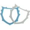 DentaMedix Plastic Rubber Dam Frame O Style, Autoclavable