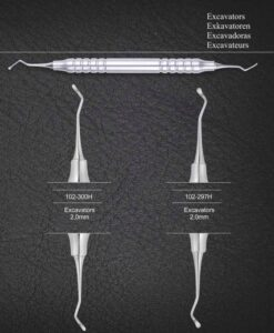 AR Instrumed Excavators 2.0mm Anatomical Hollow Handle 10mm