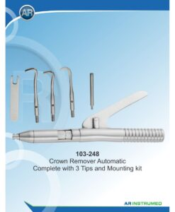 Crown Remover Automatic Complete with 3 Tips and Mounting kit