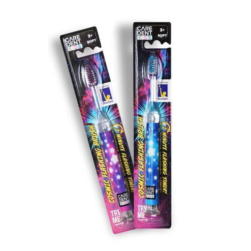Caredent Cosmic Flashing Toothbrush
