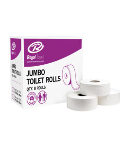 Royal Touch 2PLY Jumbo Toilet Rolls 8 Rolls/Box