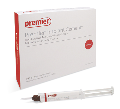 Premier Implant Cement 1 x 5ml Automix Syringe, 10 Mix Tips and Mixing Pad